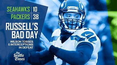 Seahawks Seattle Sports Wilson Russell Packers Times
