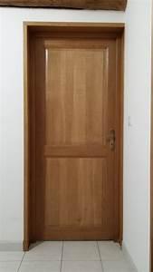 Porte En Bois Intérieur : porte interieur bois massif moderne ~ Preciouscoupons.com Idées de Décoration