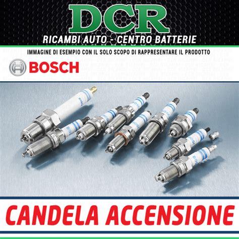 bosch candele auto ricambi auto catania 1pz candela accensione bosch