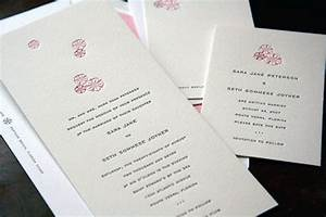 wedding invitations page stationery With letterpress wedding invitations richmond va