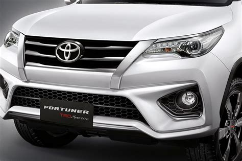 toyota fortuner trd sportivo package announced