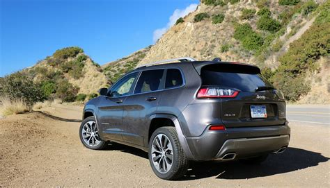 road  jeep cherokee test drive review