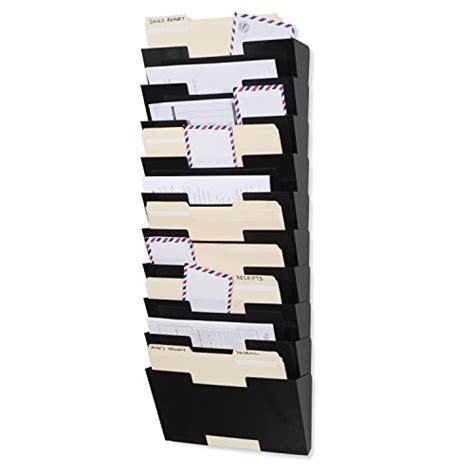 wallniture lisbon white wall mounted steel file holder organizer rack  sectional modular