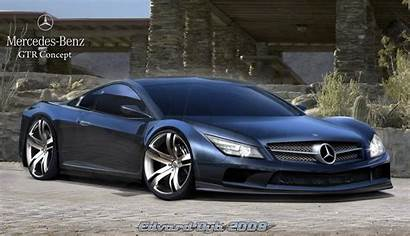 Mercedes Concept Gtr Cars Cool Future Wallpapers