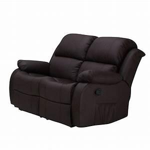 2 Er Sofa Mit Relaxfunktion : 2er sofa lakos polsterm bel in braun mit relaxfunktion neu ebay ~ Bigdaddyawards.com Haus und Dekorationen