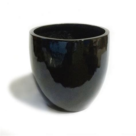 black ceramic flower pots reversadermcream