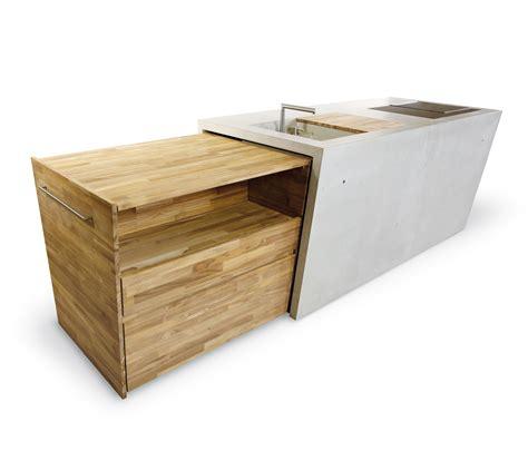 kitchen islands for sale the concrete outdoor küche modulküchen dade design