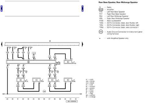 2006 audi a4 quattro bose symphonic wire diagram factory harness cut thanks