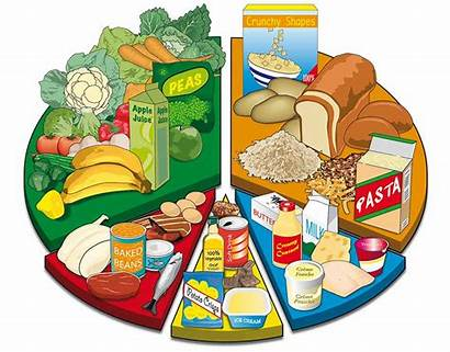 Chart Diet Balanced Clipart Graphic Nutrition Graphics