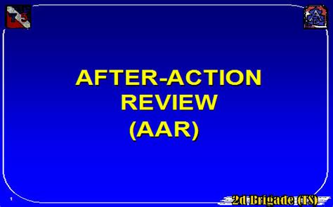 after action review after review aar armystudyguide