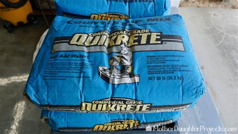 Where Can I Buy Quikrete Countertop Mix - cement bench seats projects