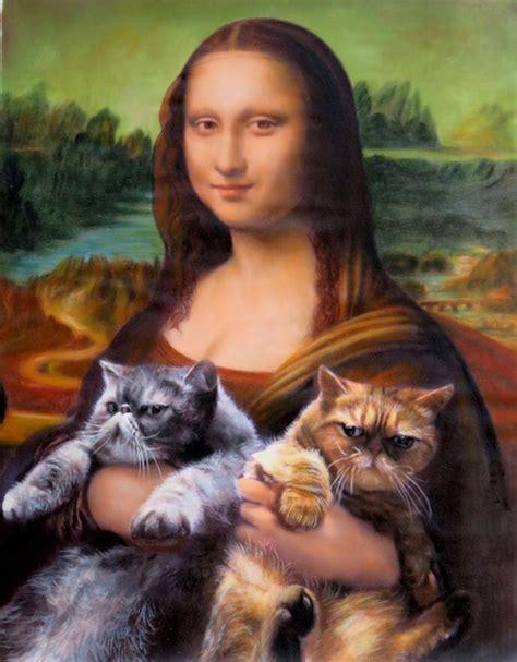cat paintings cat portraits  cat art   internet