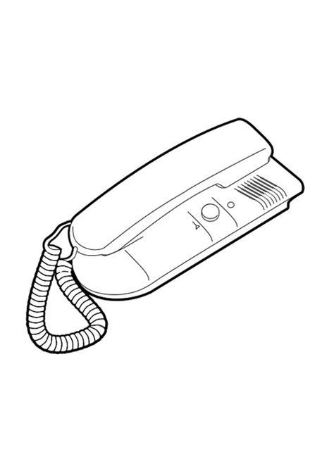 telefono da colorare disegno da colorare telefono cat 24645 images