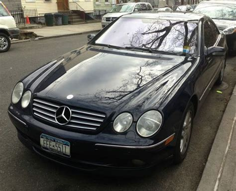 Sell Used 2001 Mercedes-benz Cl500 Base Coupe 2-door 5.0l