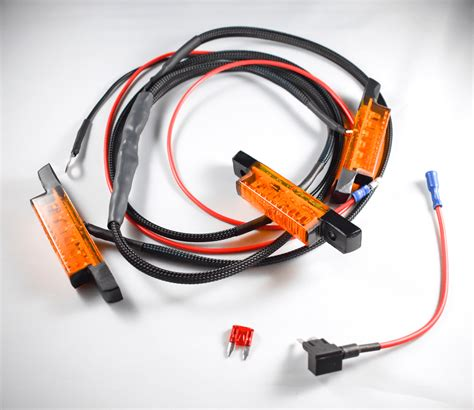 Amber Led Runner Grill Wiring Harness For Gen Toyota