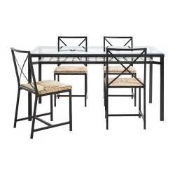 table de cuisine en verre ikea granås table et 4 chaises ikea