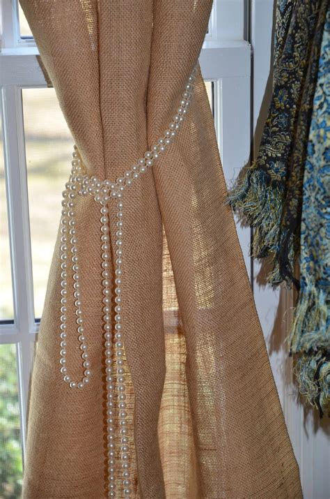 burlap curtains creative ideas for curtains premier