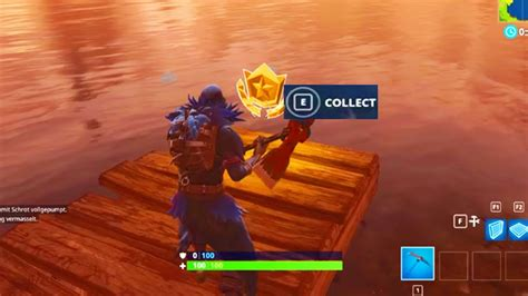 """""""search Between Three Boats"""" Location Fortnite Week 8"""