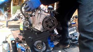 Timing Belt On An Xud Motor