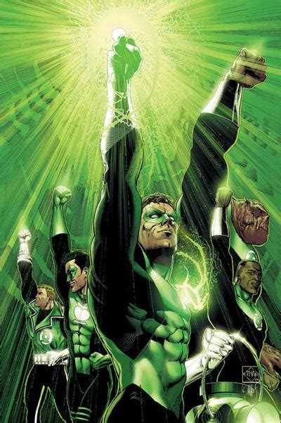 comics all real what s your lantern corps poll results