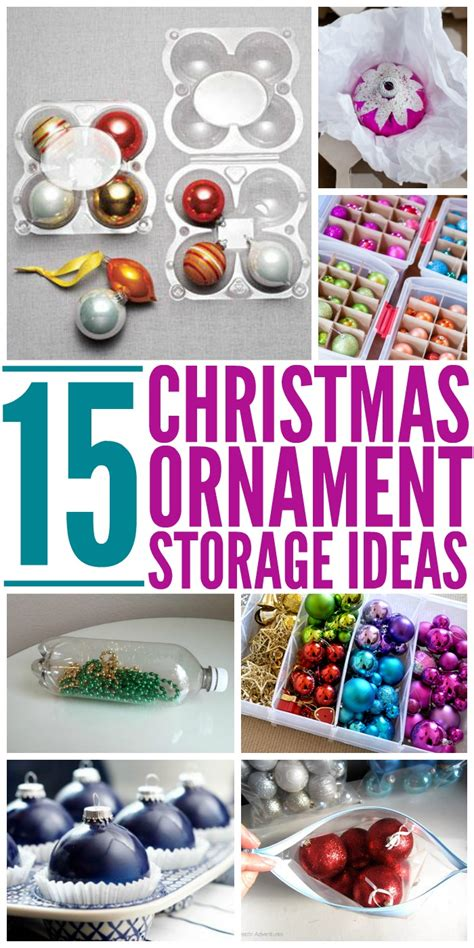 15 clever christmas ornament storage ideas the most