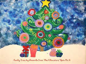 the educators 39 spin on it a diy on a budget a funky tree painting