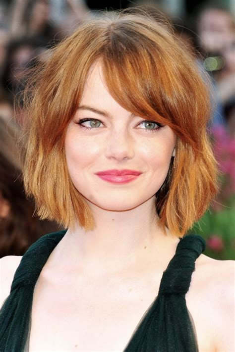 Bob Hairstyle With Side Fringe by Everyone We Has This Hair Bangs Bobs And