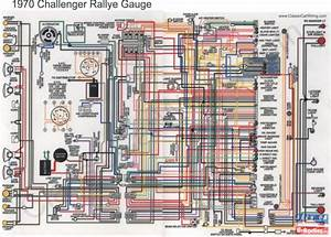 Colored Wiring Diagrams  Challenger In Electrical