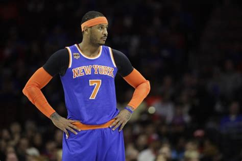 Carmelo Keeping Title Dreams Alive With Possible Rockets