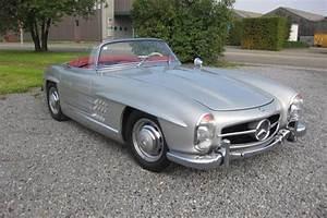 Mercedes 300 Sl A Vendre : bijna nieuwe mercedes 300 sl roadster uit 1958 te koop in antwerpen nieuws ~ Gottalentnigeria.com Avis de Voitures