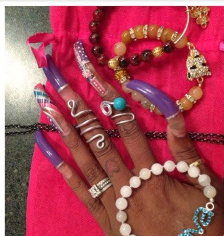 long nails long nail candy