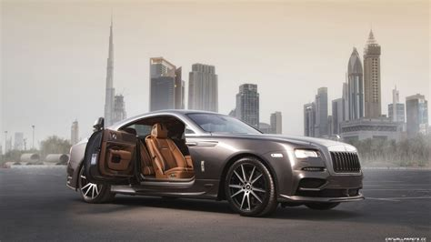 Rolls-royce Wraith Backgrounds 4k Download