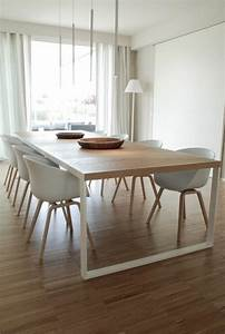 best table de salle a manger moderne bois gallery With table et chaise de salle a manger