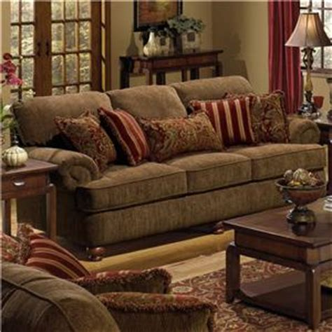 jackson furniture 4347 belmont chair and a half with