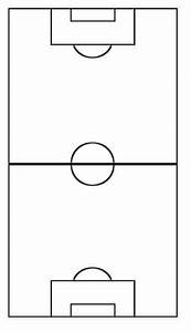 Soccer Field Diagram Blank