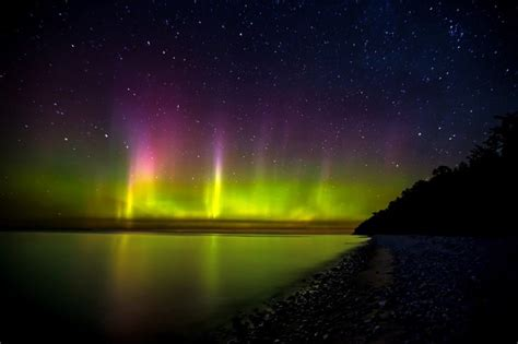 northern lights in michigan demystifying michigan s northern lights empowering michigan
