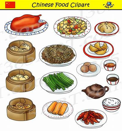 Chinese Clipart Foods Graphics Commercial Snack Insect