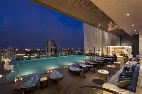 Large Comfortable Sofa by 11 Bangkok Hotels With Amazing Infinity Pools And Bathtubs
