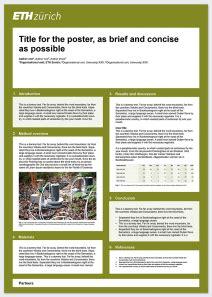 scientific poster  portrait format ziyaret