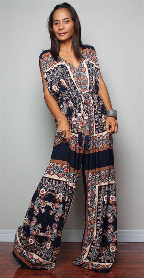 boho jumpsuit boho jumpsuit jumper maxi dress with kimono top chic
