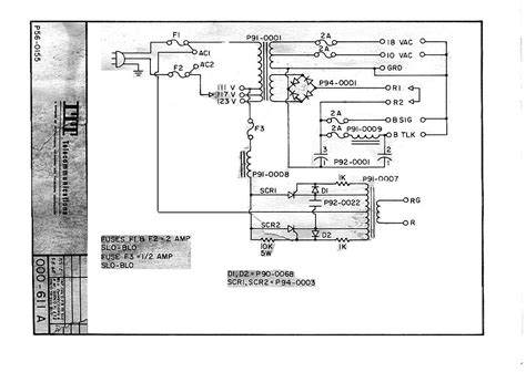 Elgin Wiring Schematic by Itt Telephone Wiring Diagram Wiring Library