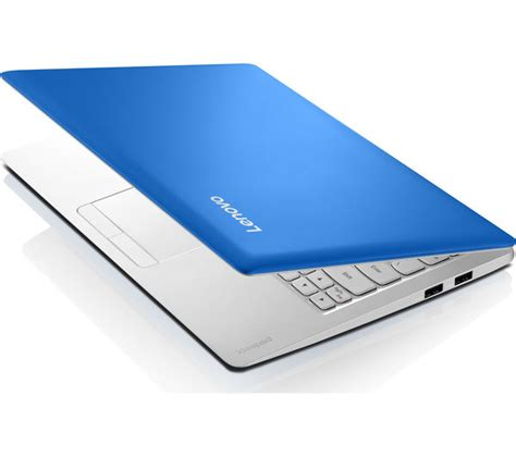 lenovo s blue buy lenovo ideapad 100s 11 6 quot laptop blue free delivery currys