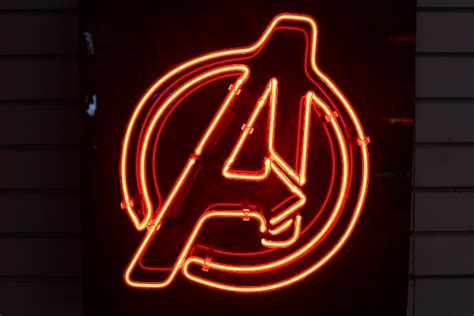 Used Custom Made Avengers Neon Sign For Sale In Mesa