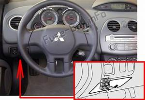 2004 Mitsubishi Eclipse Instrument Panel Fuse Box Diagram
