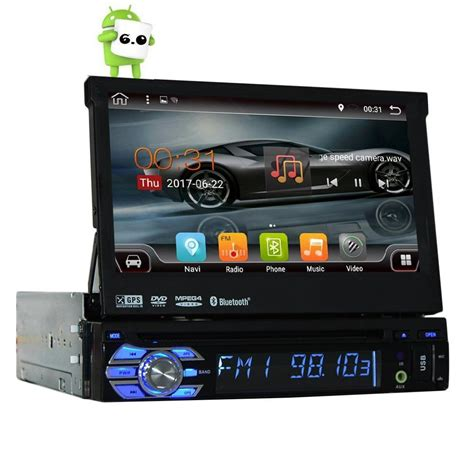 android autoradio 1 din android 6 0 1 din 7 quot universal touch screen car dvd player autoradio with gps auto