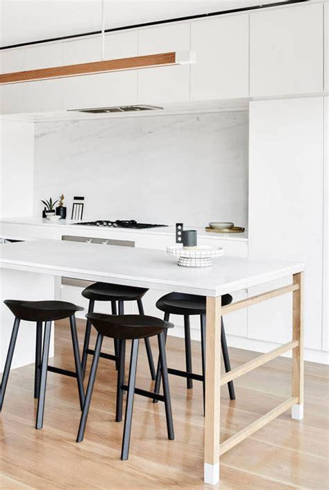 plan table de cuisine cuisine avec plan de travail table