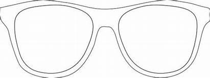 Sunglasses Template Sunglass Frames Printable Clip Glasses