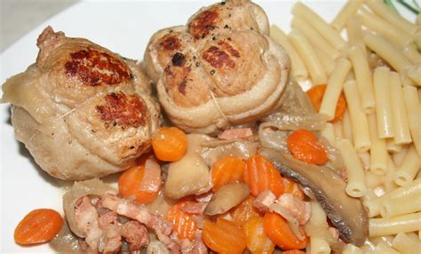cuisiner paupiette de porc paupiettes de porc au cidre amafacon