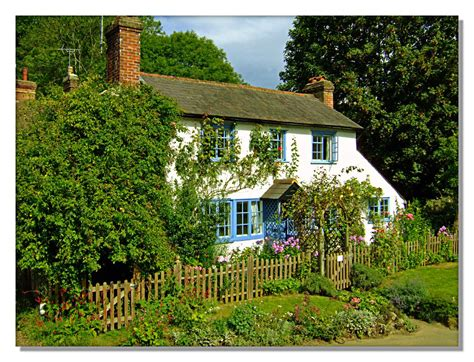 English Country Cottage  Peaslake Surrey  A Photo On