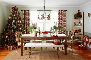 decoration salle a manger noel exemples d39amenagements With salle a manger noel